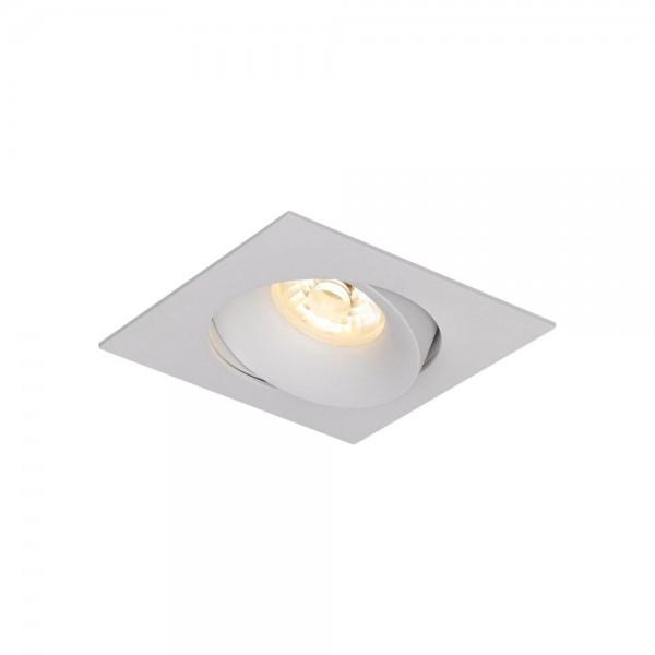 PIAZZA LENTE LED Einbaustrahler 9W/11,5 eckig - schwenkbar