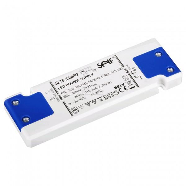 SLT6-350IFG LED Konverter 350mA/24V 6W SELF - slim