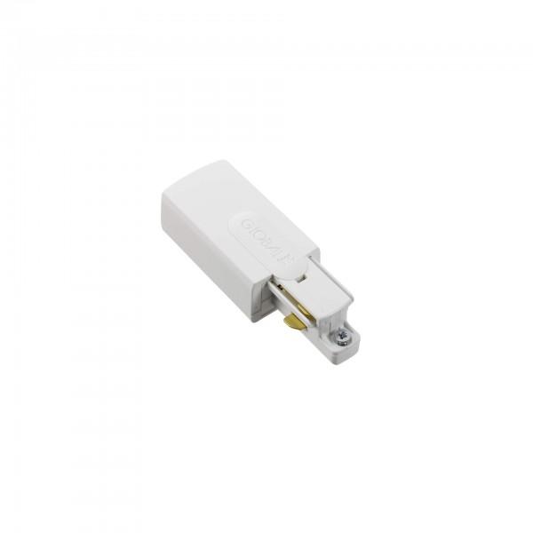 GB 11 Einspeiser rechts für 1Phasen-Schiene | nordic aluminium