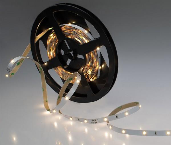 LED Streifen weiß 2,4W/m 24V (Rolle á 5m)