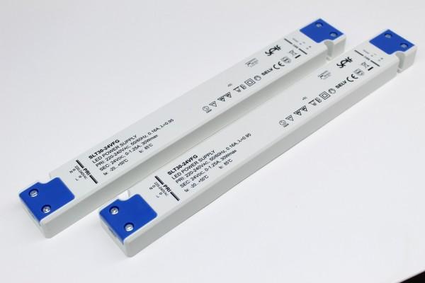 SLT30-24VFG 2x LED Konverter 24V 30W SELF - slim