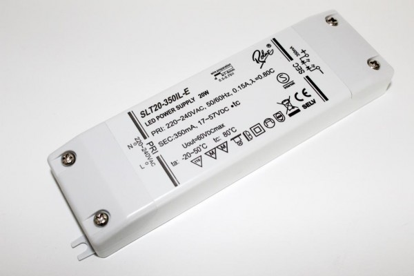 SLT20-350IL-E LED Konverter 350mA 20W SELF