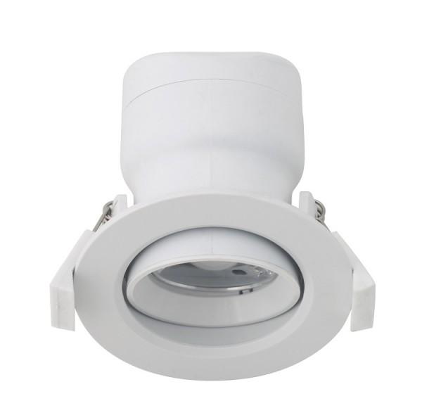 LED Downlight 6,5W DF-607D-M mit opaler Abdeckung, 230V - dimmbar, schwenkbar