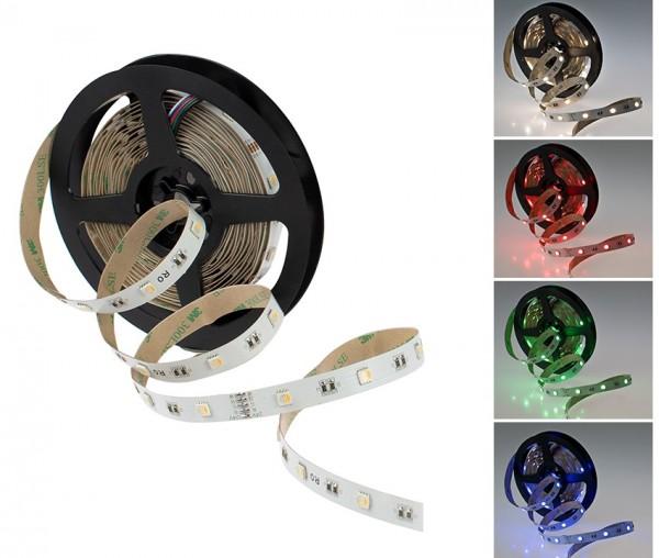 LED Streifen RGB-W 9,6W/m 24V (Rolle á 5m)