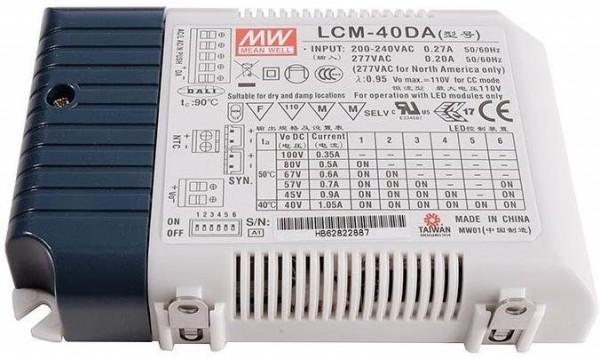 LCM-40DA LED Konverter Meanwell - DALI dimmbar