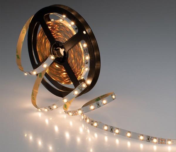 LED Streifen weiß 4,8W/m 24V (Rolle á 5m)