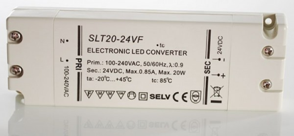SLT20-24VF LED Konverter 24V 20W SELF