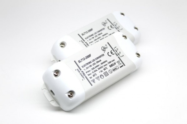 SLT12-350IF 2x LED Konverter 350mA 12W SELF