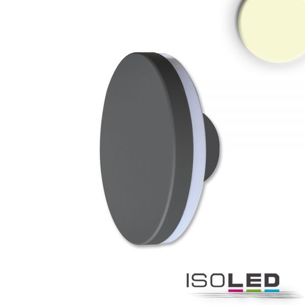 LED Wandleuchte Poller-3 12W 150mm schwarz