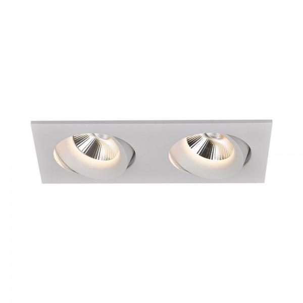 DOPPIO LED 2x 12,5W Einbaustrahler schwenkbar | Karizma Luce