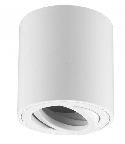 Deckenanbauleuchte für GU10 Leuchtmittel - rund