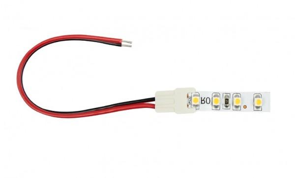 Anschlussleitung 2-Polig für 2,4W/m und 4,8W/m LED Streifen W, 150mm