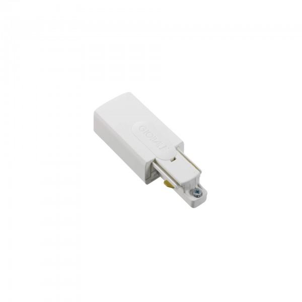 GB 12 Einspeiser links für 1Phasen-Schiene | nordic aluminium