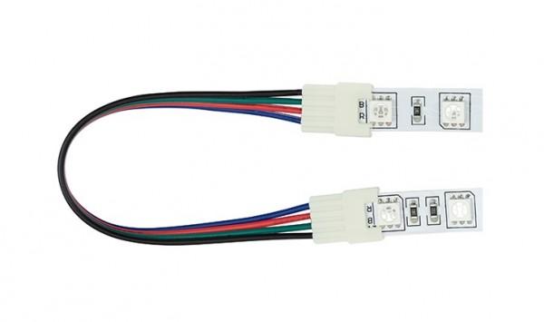 Zwischenverbinder 4-Polig für 7,2W/m LED Streifen RGB, 150mm