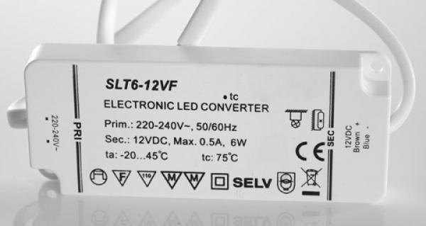 SLT6-12VF LED Konverter 12V 6W SELF