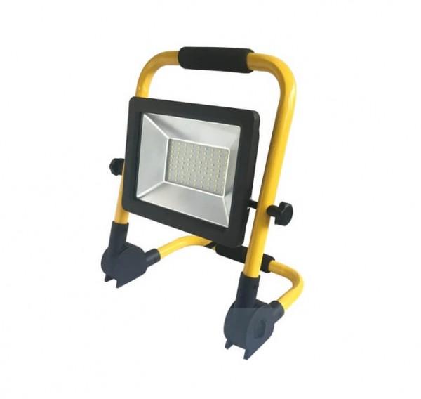 LED Flutlichtstrahler Arbeitsleuchte 50W DF-51001-C-50 mit Handgestellt IP65 | Rolu