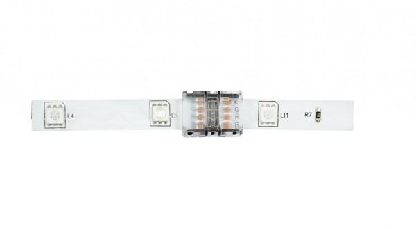 Direktverbinder/Clip 4-Polig für 14,4W/m LED Streifen RGB - hoch